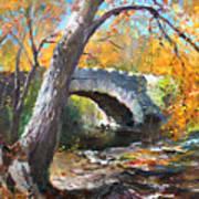 Fall At Three Sisters Islands Art Print