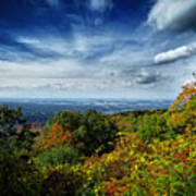 Fall Blue Ridge Parkway Art Print