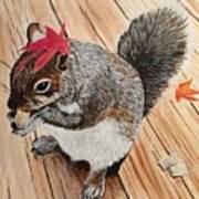 Fall Bonnet Art Print