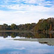 Fall Color On The Pond Art Print