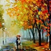 Fall Drizzle Art Print