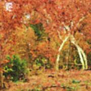 Fall Impression Art Print