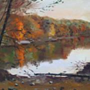 Fall In 7 Lakes Art Print