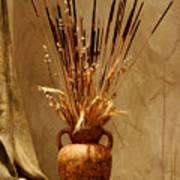 Fall In A Vase Still-life Art Print