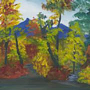 Fall In All Its Glory Art Print
