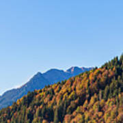 Fall In Gstaad Art Print