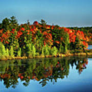 Fall In Northern Wisconsin Art Print