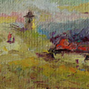 Fall In Orheiul Vechi Art Print
