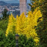 Fall In Portland Or 2 Art Print