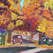 Fall In Santa Clara Art Print