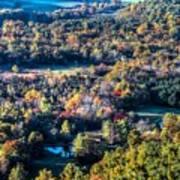 Fall In Shenandoah Valley Art Print