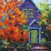 Fall In The Neighborhood Art Print