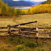 Fall In The Rockies 2 Art Print