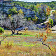 Fall In The Texas Hill Country Art Print