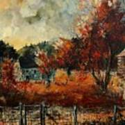 Fall In Vivy Art Print