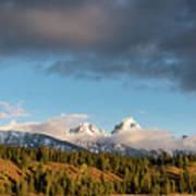 Fall In Wyoming Art Print