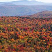 Fall Mountains #3 Art Print