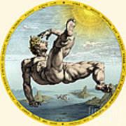 Fall Of Icarus, Greek Mythology Art Print