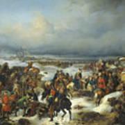 Fall Of Kolberg Art Print
