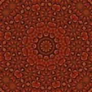 Fall Splendor Mandala Art Print