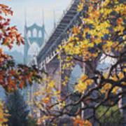 Fall St Johns Art Print