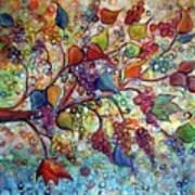 Fall Vineyard  Art Print