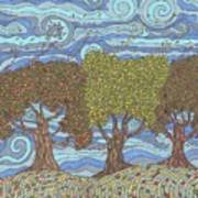 Fall Winds Art Print