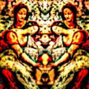 Fallen Angels 1503 Davinci Art Print