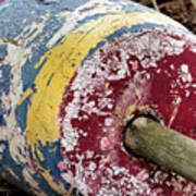 Fallen Buoy Art Print