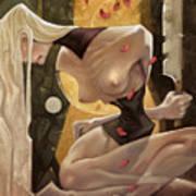 Fallen Queen II - Sorrow Art Print