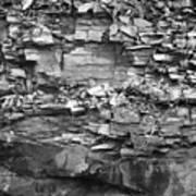 Fallen Rocks Art Print