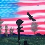 Fallen Soldier Art Print