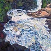 Falling Down Ragged Art Print
