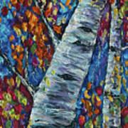 Falll In Rockies - Left Panel Art Print