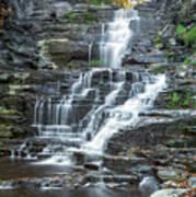 Falls Creek Gorge Trail Ithaca New York Art Print