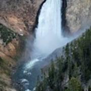Yellowstone National Park Waterfalls Art Print