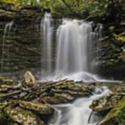Falls Of Hills Creek 2  Art Print