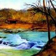 Fallsburg Ky Falls Art Print
