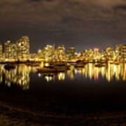 False Creek At Night Art Print