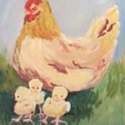 Family Gathering Art Print