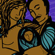Family Is A Sanctuary Art Print