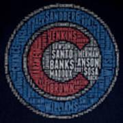 Famous Chicago Cubs Art Print