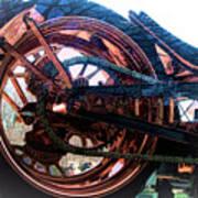 Famous Liberty Bike Copper Ny Art Print