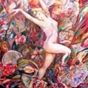 Fan Dance Unveiled Art Print