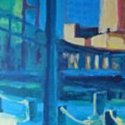 Fan Pier, Boston Art Print