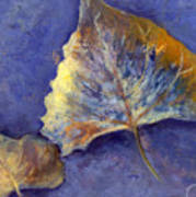 Fanciful Leaves Art Print