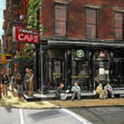 Fanelli Cafe Art Print