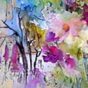 Fantaquarelle 02 Art Print