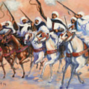 Fantasia Algerienne Art Print