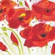 Fantasia De Amapola Art Print